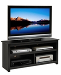 Vasari 48''W Flat Panel Plasma/LCD TV Console with Media Storage - Black [BPV-4701-FS-PP]