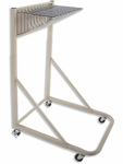Blueprint Storage Rolling Stand with 12 Pivot Brackets [MRWH-FS-BD]