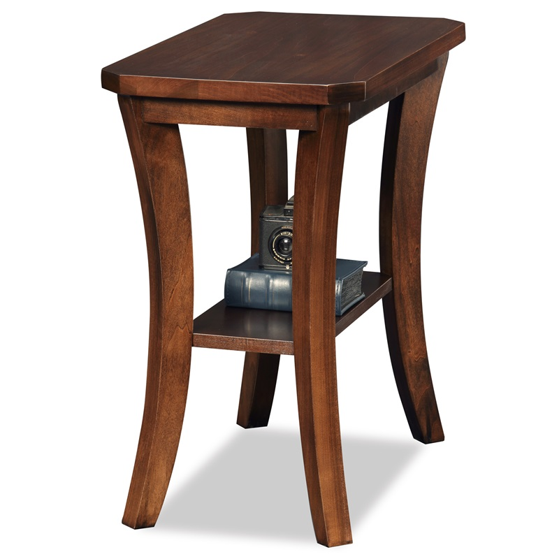 Boa 24 39 39 W X 24 39 39 H Solid Wood Narrow Chairside Table With