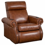 Bradford Theater Seat in Bonded Leather [510-BRADFORD-S1-FS-LTS]