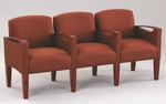 Brewster Series 3 Seats with Center Arms [F3453K6-FS-RO]