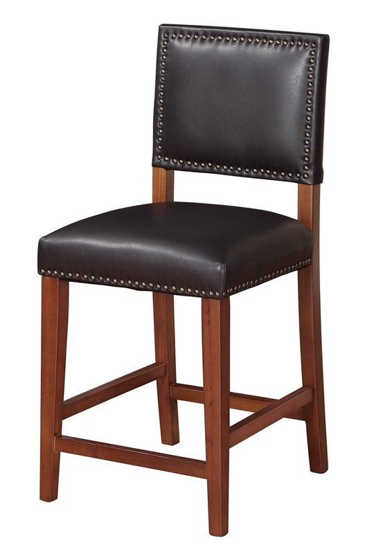 Brook Armless 24 H Counter Height Stool With Antique
