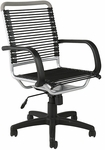 Bungie High Back Office Chair in Black and Aluminum [02556-FS-ERS]