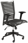 Bungie Pro Flat High Back Office Chair in Black [02576BLK-FS-ERS]