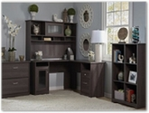 Bush Furniture - Cabot Wooden Office Furniture Collection