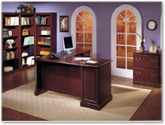 Bush Furniture - Saratoga Wooden Office Furniture Collection