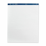 Business Source Easel Pad - Ruled - 50 Sheets - 27'' x 34'' - 4/CT - White [BSN36586-FS-SP]
