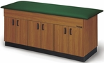 Cabinet Storage Table with Hinged Doors [HAU-A9067-FS-HAUS]