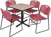 Cafe and Lunchroom Table Sets