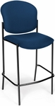 Manor Cafe Height Chair - Navy Fabric [408C-804-MFO]