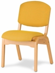 Campus 4 Armless Stacking Guest Chair - Grade 3 [CAMPUS4-GR3-FS-HSAG]