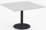 Cantina 1 Day Quick Ship 42'' x 42'' Square Top with Heavy Duty Cast Iron Round Base [1D-CTNA-4242-SPT]