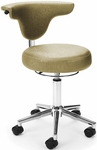 Elements Anatomy Anti-Microbial and Anti-Bacterial Vinyl Chair - Capreni Sage [E910-SAGE-FS-MFO]