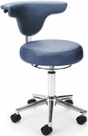 Elements Anatomy Anti-Microbial and Anti-Bacterial Vinyl Chair - Capreni Slate [910-SLATE-FS-MFO]