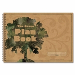 Carson-Dellosa Publishing Green Plan Book - 96 Pages - 9 -1/4'' x 13'' [CDP104300-FS-SP]