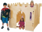 Childrens Castle with Four Interlocking Walls - Queen [2491JC-JON]