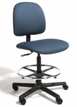 Centris Medium Back Mid-Height Drafting Chair - 2 Way Control [CEMM2-FS-CRA]