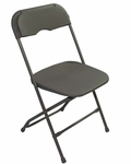Champ Series Versatile Resin Wedding Folding Chair with Foot Caps - Neutral [131037-MES]