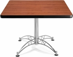 42'' Square Multi-Purpose Table - Cherry [KLT42SQ-CHY-MFO]