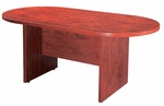 Cherry Racetrack Conference Table [ML135-CHERRY-FS-MAR]
