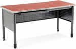 Mesa 27.75'' D x 55.25'' W Training Table and Desk with Drawers - Cherry [66140-CHY-MFO]
