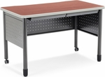Mesa 27.75'' D x 47.25'' W Training Table and Desk with Drawers - Cherry [66120-CHY-MFO]