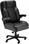 Chief Office Chair with Lumbar Support - Leathermate [OF-CHIEF-LLM-FS-ARE]