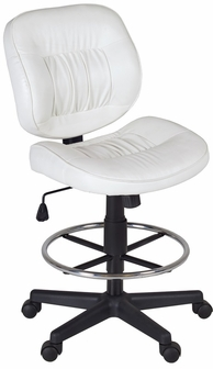 Armless Task Stool OSP Designs Armless Swivel Task Chair 499