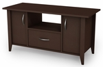 Classic View Collection TV Stand Chocolate [4959661-FS-SS]