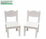 Classic White Collection Chair - Set of 2 [G85703-FS-GUI]