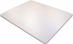 48''W x 60''L Cleartex Advantagemat Chairmat for Plush Pile Carpets Over 3/4'' [1115240EV-FS-FTX]