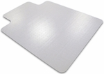 36''W x 48''L Cleartex Advantagemat Chairmat with Lip for Medium Pile Carpets up to 3/4'' [119230LV-FS-FTX]