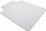 48''W x 53''L Cleartex Unomat Anti-Slip Lipped Chairmat for Hard Floors and Very Low Pile Carpets [1213420LRA-FS-FTX]