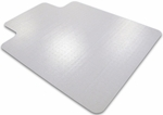 48''W x 60''L Cleartex Ultimat Chairmat with Lip for Low to Medium Pile Carpets [1115223LR-FS-FTX]