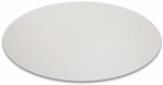 Cleartex Polycarbonate Circular General Purpose Mats for Hard Floors - Diameter 36'' [129020RR-FS-FTX]