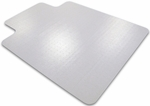 35''W x 47''L Cleartex Ultimat with Lip Office Mat for Plush Pile Carpets over 1/2'' [118927LR-FS-FTX]