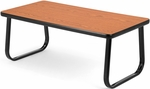 Magazine Table with Sled Base - Cherry [TABLE2040-CHY-FS-MFO]
