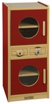 Colorful Essentials Kitchen Washer and Dryer Combination Play Station - Red [ELR-0744-RD-ECR]