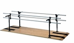 Combination Adult-Child Parallel Bars - 28''W X 120''L X 29 - 42''H [HAU-1384-FS-HAUS]