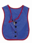 Combo Zipper / Button Vest - 17.5''L x 13.5''W [CF361-319-FS-CHF]