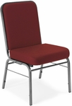 Comfort Class 300 lb. Capacity Stack Chair - Wine Fabric [300-SV-803-MFO]
