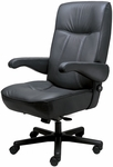 Commander Waterfall Contoured Seat Office Chair - Fabric [OF-COMDR-F-FS-ARE]