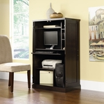 Wooden 31.5''W x 52''H Computer Armoire with Wrap-Around Doors - Cinnamon Cherry [411614-FS-SRTA]