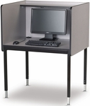 Computer Starter Carrel with Laminate Surface - 37''W x 30''D [01307-SCI]