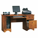 Select Collection 59.5''W Computer Desk - Maple [402375-FS-SRTA]