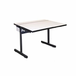 Computer Table w/Pedestal Base [3036-CT-PB-A2-IRO]