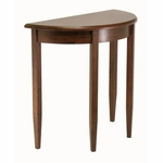 Concord Half Moon Accent Table [94132-FS-WWT]