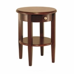 Concord Round End Table [94217-FS-WWT]