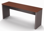 Connexion Credenza with Commercial Grade Work Suface - Bordeaux and Slate [93612-1139-FS-BS]