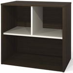 Contempo Storage Unit with Scratch and Stain Resistant Finish - Tuxedo [50160-78-FS-BS]